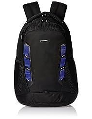 Gear Business 30 Ltrs Black And Royal Blue Laptop Backpack (LBPTLBLZR0110)