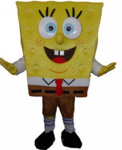 Spongebob Squarepants Mascot Costume Fancy Dress