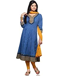 Vastra Vinod Women Cotton Anarakli Suit