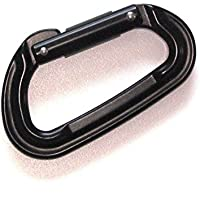 Keychain Carabiner Black Holds Up To 5175 Lbs
