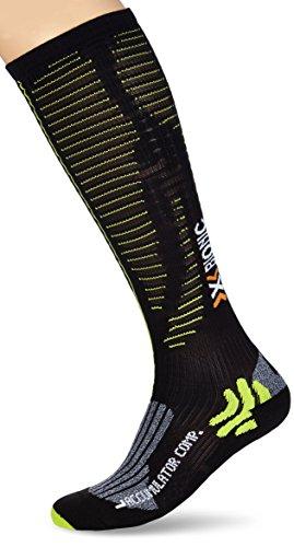 X-Socks calcetines para deporte de competición para adultos en función de la temperatura, primavera/verano, unisex, color Varios colores - Black/Acid...