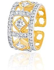 DC American Diamond CZ Ring Band For Women & Girls