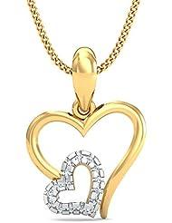 Stylori 18k Gold And Diamond Kaiyaa Pendant