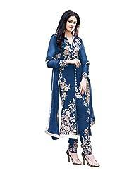 Mantra Fashion New Navy Blue Pakistani Style Salwar Suit