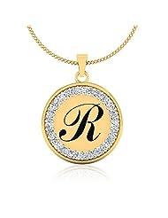 IskiUski Enthralling R Swarovski Valentine Pendant In 925 Sterling Silver For Women