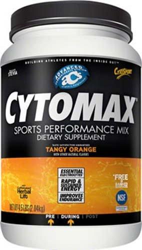 Cytomax Sports Performance Drink, Tangy Orange, 4.5 lbs