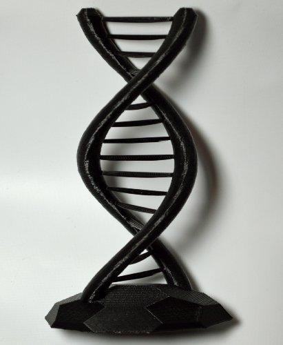 3D Printed DNA Model, Black