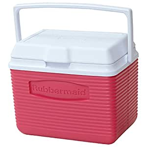 rubbermaid organizers kitchen rubbermaid personal cooler 10 quart pink 2036