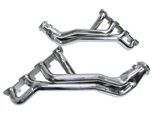 BBK 1647 1-3/4″ Full Length Long Tube High Flow Performance Exhaust Headers for Dodge Hemi/Charger/Challenger/Magnum/SRT8/Chrysler 300 5.7L – Chrome Finish