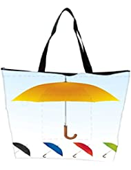 Snoogg Umbrellas Vector F Waterproof Bag Made Of High Strength Nylon