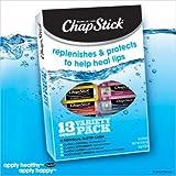 Chap Stick Lip Balm Variety Pack Assorted Flavors Original Strawberry Moisturizer Plus 2 Cherry (Pack Of 13)