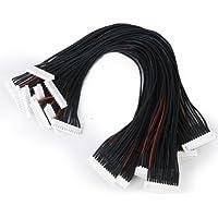 Generic 10pcs JST-XH 12S Lipo Balance Wire Extension Lead 30cm