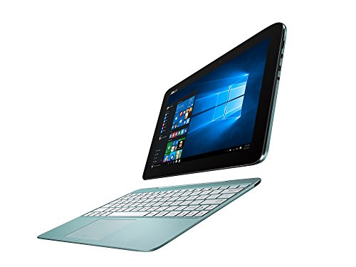 ASUS 2in1 タブレット ノートパソコン TransBook T100HA-BLUE Windows10/Microsoft Office Mobile/10.1インチ/アクアブルー