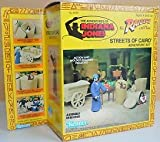 The Adventures of Indiana Jones Raiders of the Lost Ark Action Figure Streets of Cairo Adventure Set Vintage 1983 Kenner