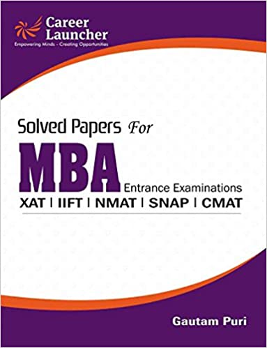 MBA Solved Papers 2017