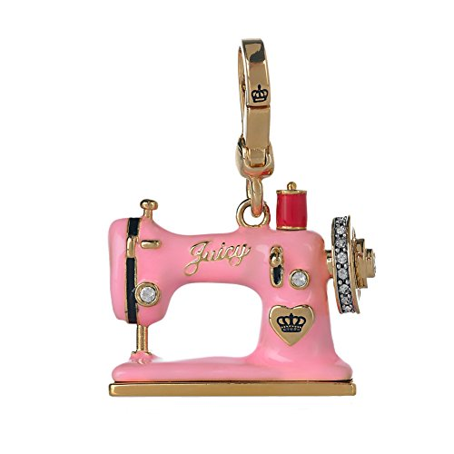 Juicy Couture Pink Sewing Machine Charm