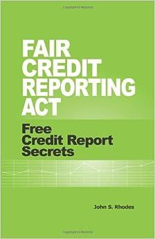 Fair Credit Reporting