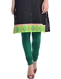 Sohniye Women's Cotton Leggings [Fern Green]