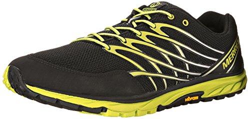 Merrell BARE ACCESS TRAIL - Zapatillas para deportes de exterior de material sintético para hombre multicolor Mehrfarbig (BLACK/LIME) 45 EU...