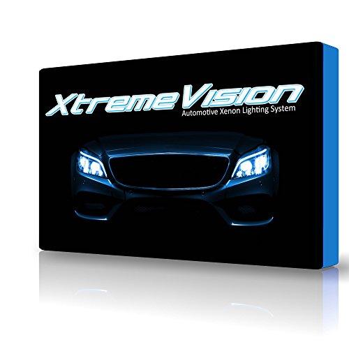XtremeVision® 35W HID Xenon Conversion Kit with Premium Slim Ballast – H11 10000K – Dark Blue – 2 Year Warranty