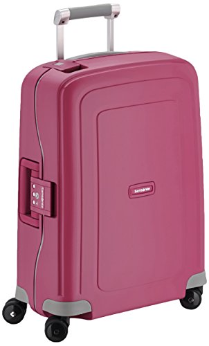 Samsonite Bagage Cabine S'cure Spinner - 55X40X20 , 34 L ,Rose