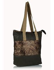 Home Heart Women's Eco Friendly Tote Bag (Brown) - B00KG7W172