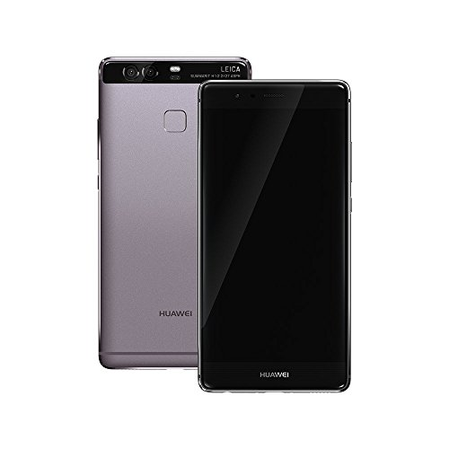 Huawei P9 EVA-L09 32GB 5.2 Inch 12 MP 4G LTE Factory Unlocked - International Stock No Warranty (TITANIUM GREY)