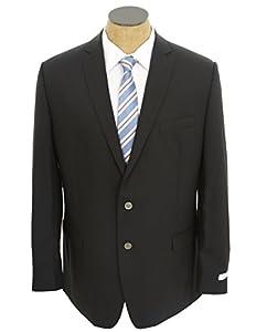 Calvin Klein Mens Solid Navy Blue Slim Fit Wool Blazer Sport Coat Jacket- Size 40S