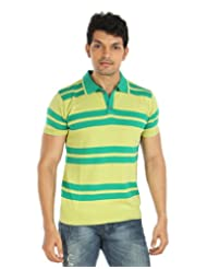 Silver Spring Green Super Combed Cotton T Shirt _ RVD011_$P