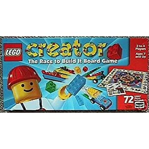 Click to buy LEGO Creator: The Race to Build It Board Game from Amazon!