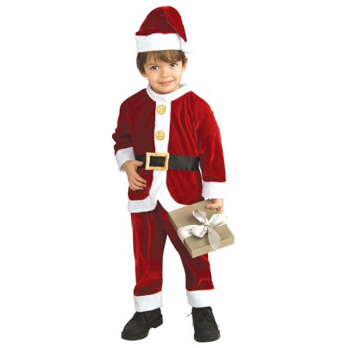 Child's Little Santa Costume