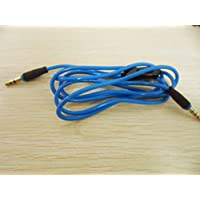 Bule Mic Volumn Extend Control Talk Cable Wire For Apple Iphone 3 4 4S 5 5S 6 Headphone Headset Earphone IOS SysTem