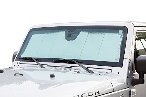 WINDSHIELD FOLDING Sunshade for Jeep Wrangler 2007 2008 2009 2010 2011 2012 2013 2014 2015 2016 #FS-Wrangler