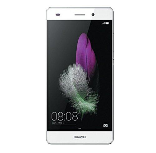 Huawei SIMフリースマートフォン P8 lite 16GB (Android 5.0/オクタコア/5.0inch/nano SIM/microSIM/デュアルSIMスロット) ホワイト [OCN モバイル ONE 音声対応マイクロSIM付] ALE-L02-WH SIMSET