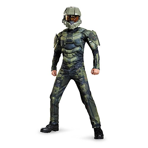 Master Chief Classic Muscle Costume
