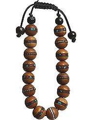 Buddha Crafts Bodhi Wood Medicine Bracelet
