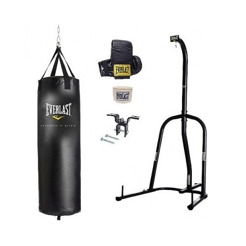 Everlast Single Station Heavy Bag Stand with a 70-lb. Heavy...