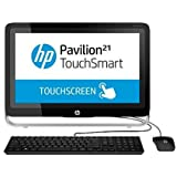 """HP Pavilion 21-h116 All-in-One TouchSmart 21"""" FULL HD Display Desktop PC Intel Pentium G3220T 1.5GHz/ 2.6GHz Accelerated Processor 4GB DDR3 500GB Windows 8.1"""