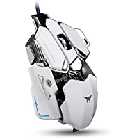 Motis USB Gaming Mouse-High Precision LED Gaming Mouse Game Mice For PC Computer Mouse With Weight Tuning Set F1
