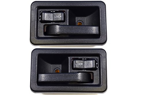 PT Auto Warehouse CH-2833A-DP – Inside Interior Inner Door Handle, Black – Left/Right Pair
