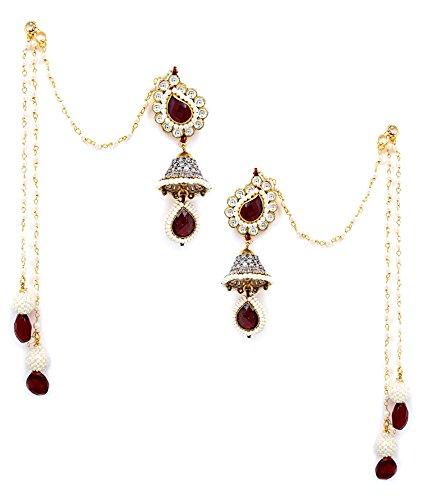 Akshim Multicolour Alloy Earrings For Women - B00NPYBCRS