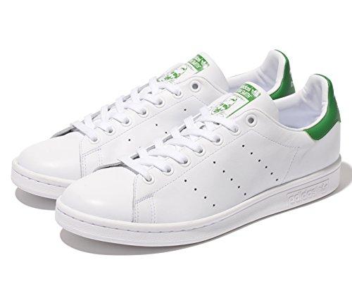 【アディダス】 adidas STAN SMITH スタンスミス (4色) M20324 M20325 M20326 M20327 (27.0, ホワイトxグリーン)