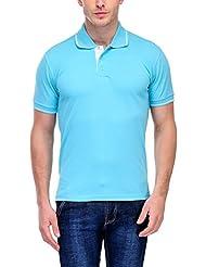 Scott Men's Premium Cotton Polo T-shirt - Electric Blue