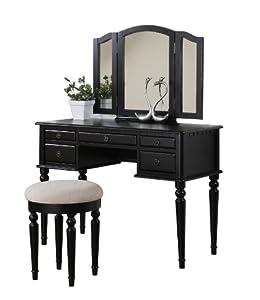 Amazon.com: Bobkona St. Croix Collection Vanity Set with