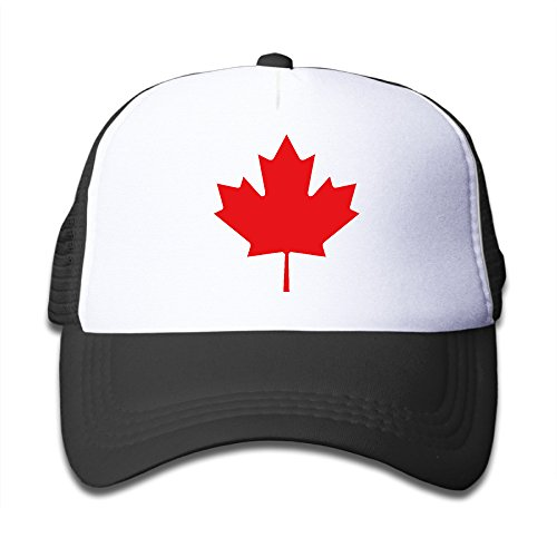 Trump and Clinton Halloween Costumes - Choose Edgy or Funny - Fashion Canada Maple Red Leaf Kid Trucker Hat Unisex Black