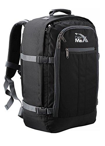 Cabin Max - Sac à dos et bagage à mains pour cabine- capacité brute de 44l...