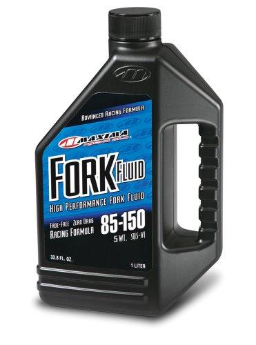 Maxima (59901-5) 85/150 Grade 5WT Zero Drag Formula Racing Fork Fluid - 1 Liter