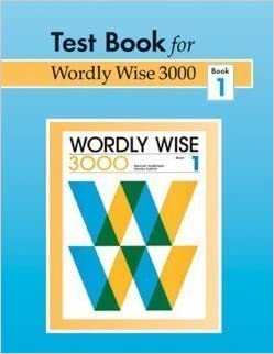 Download: Wordly Wise 3000 Book 6 Lesson pdf