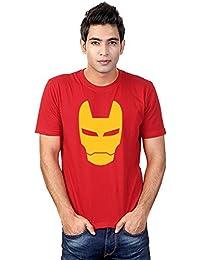 Sharq Iron Man 100% Cotton Round Neck Tshirt