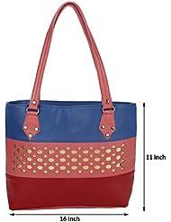 Kacey::Kacey Blue Shoulder Bag::Kacey Red Shoulder Bag::Designer Shoulder Bag::Women Shoulder Bag::PU Shoulder...